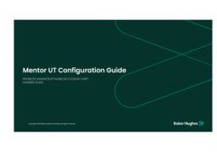 Mentor UT Configuration Guide R10のサムネイル